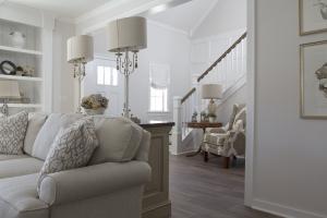 Woonkamer meubels met trap